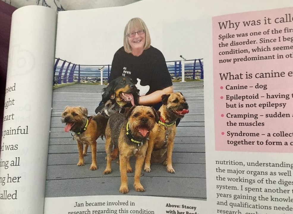 Stacey Firth from Dogs Magazine Sept18