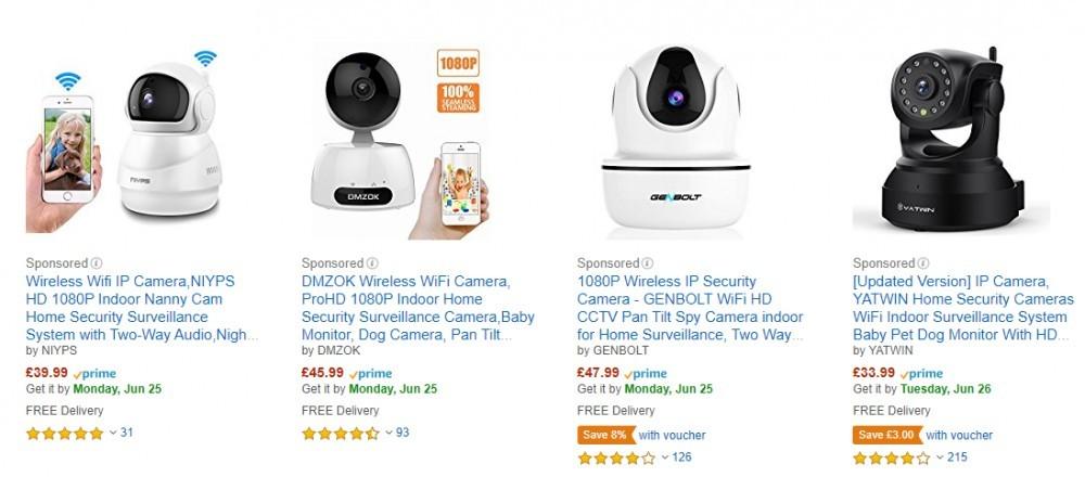 Amazon Dog Cameras