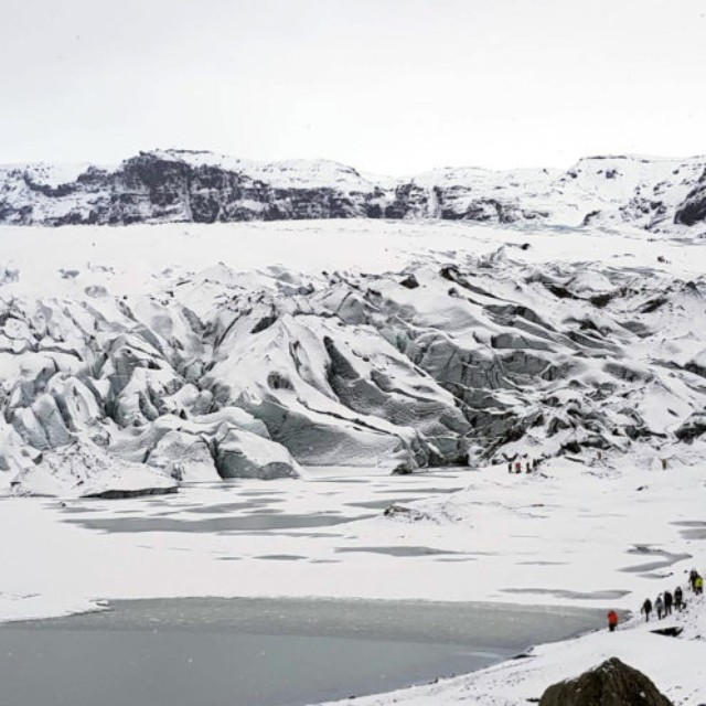 Glacier Walk on Solheimajokull