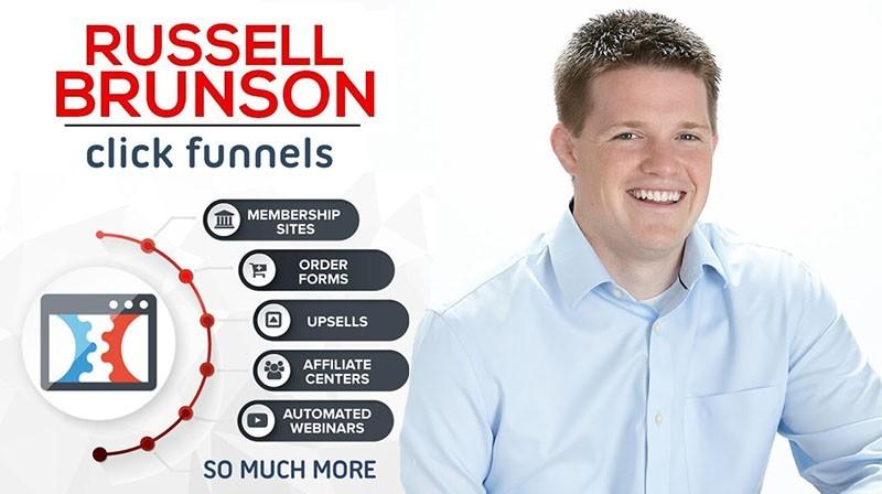 Russell Brunson, Creator of Clickfunnels