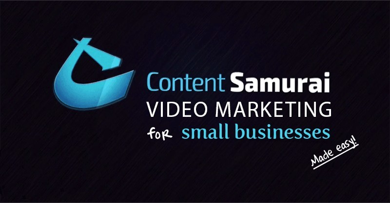Content Samurai Online Video Creation Tool