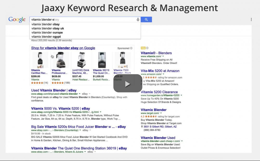jaaxy training video - keyword research and management