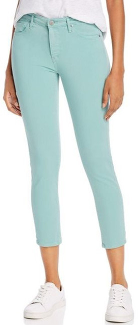 Mint Green Denim Pants