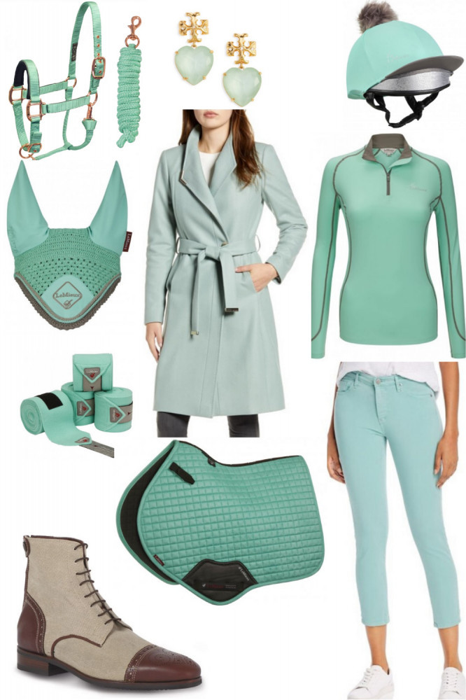 Minty Gorgeous & Green: New Horse Riding Clothe Ideas for Spring