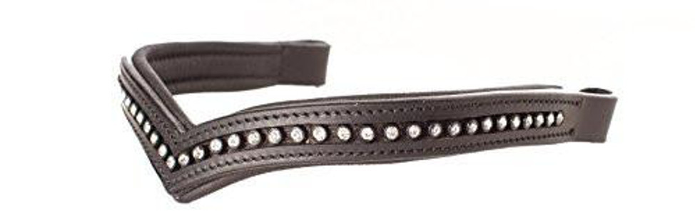 equestrian outfits - Ovation Viviana Flash Bridle Browband