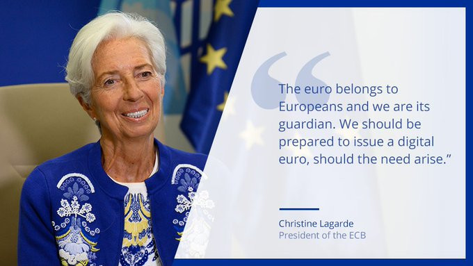 what is the digital euro