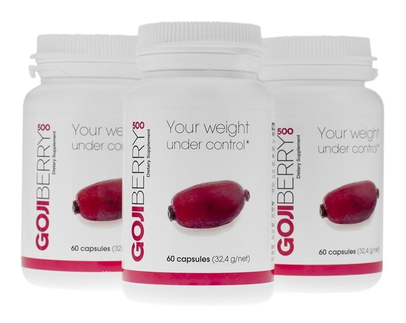 Goji Berry 500 Supplement