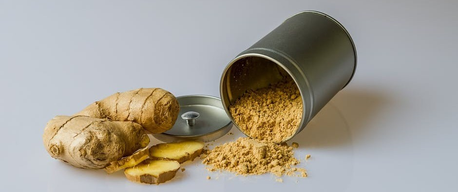 ginger for natural hives treatment