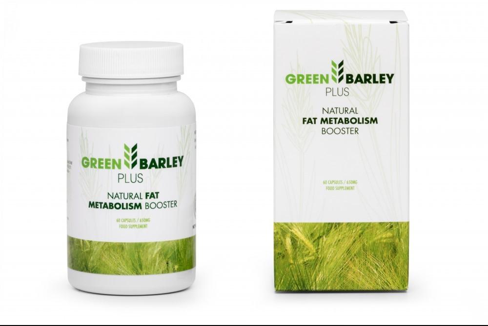 Green Barley Plus Natural Fat Metabolism Booster