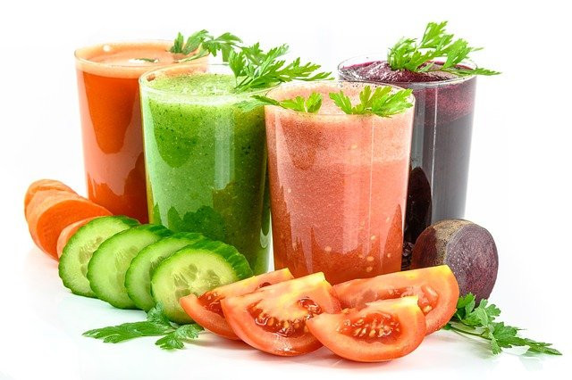 vegetable juices and vegetables