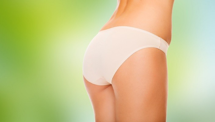 sexy woman's butt