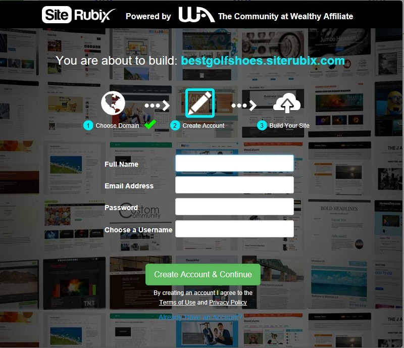 site rubix website
