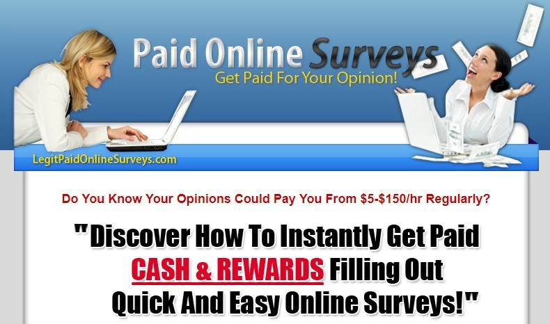 legit paid online surveys