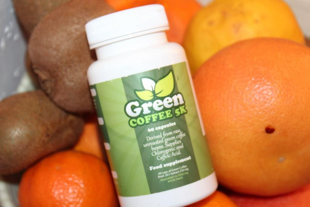 green coffee 5k and fruit