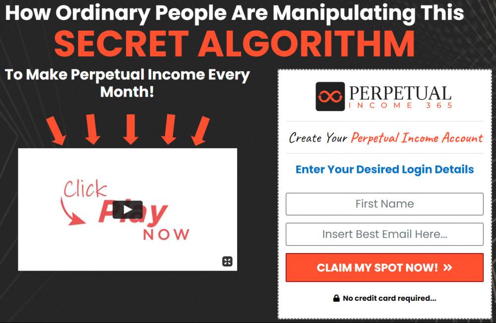 perpetual income 365 homepage