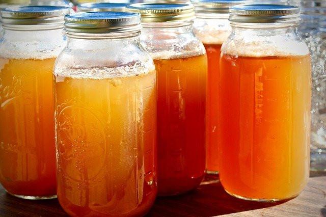 ACV in jars
