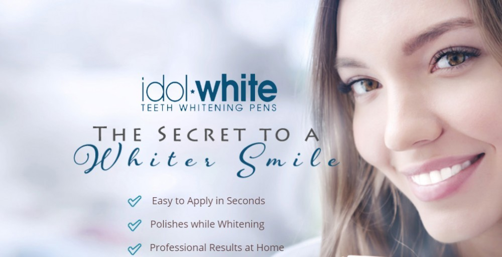 idol white teeth whitening pens