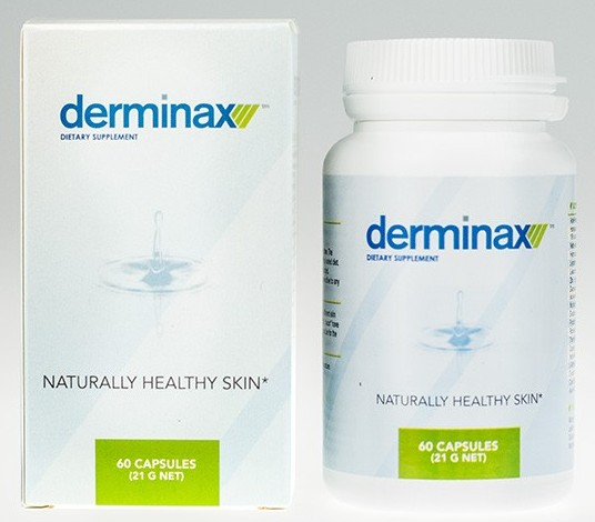 Derminax dietary supplement for acne