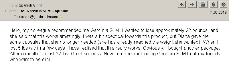 garcinia slm testimonial 3