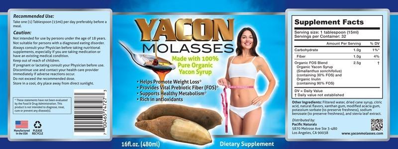 yacon lolases label