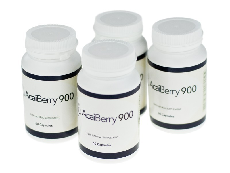 Acai Berry 900 Bottles