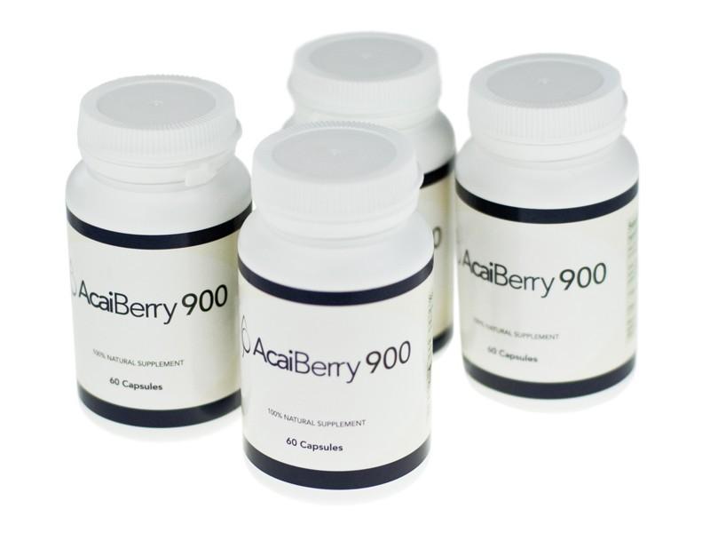 Acai Berry 900 Bottles