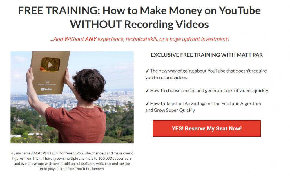 tube mastery free training