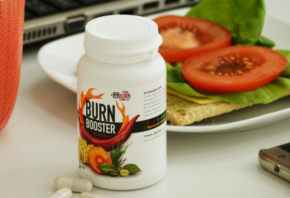 burnbooster with food