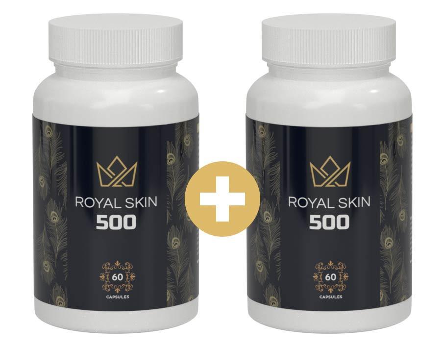 royal skin 500 bottles