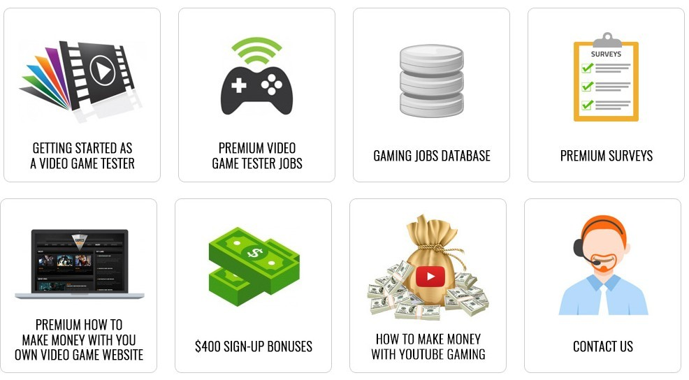 gaming jobs online members area