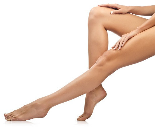 legs with healthy fascia