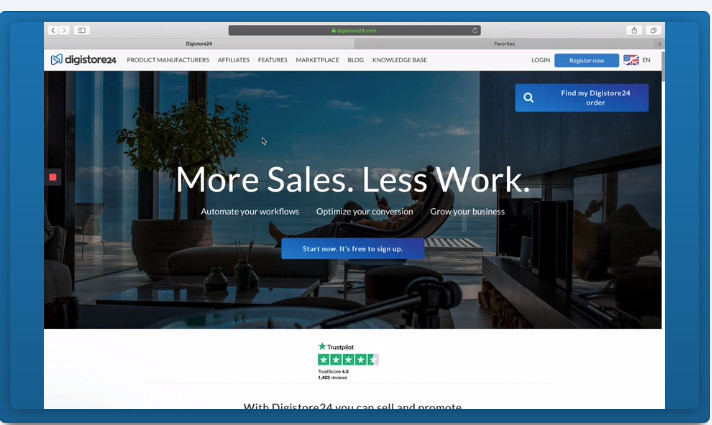 more sales, less work