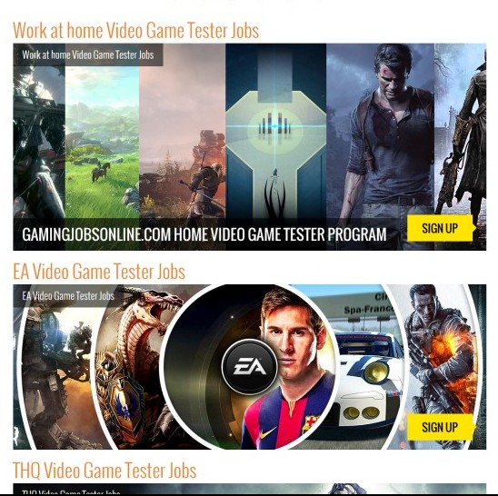 game tester jobs