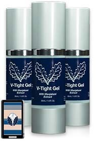 3 bottles of V-tight Gel