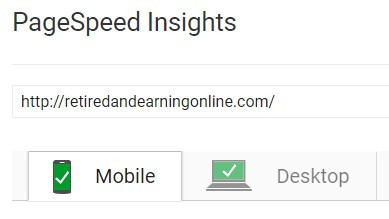 PageSpeed Insights Analysis