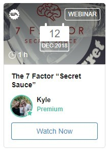 The Seven Factor Secret Sauce