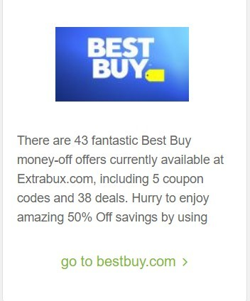 Extrabux - Current Best Buy Deals