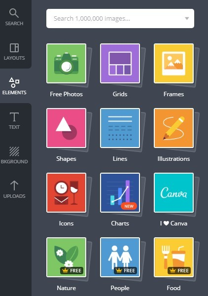 Canva - Design Elements