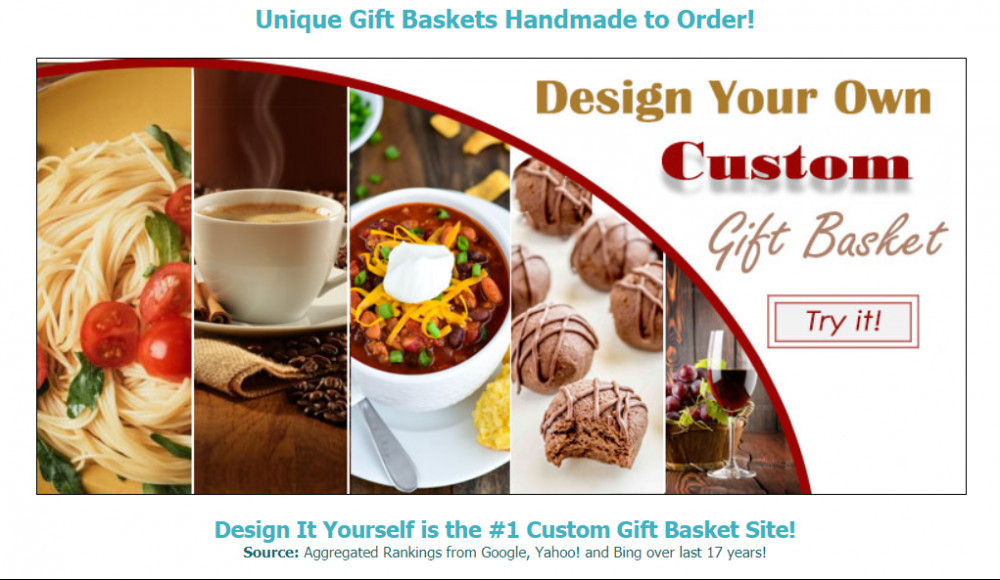 Design it Yourself Gift Basket Affiliate Program