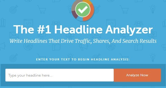 Headline Analyzer Text Box