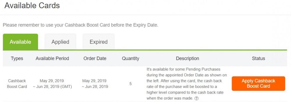 Extrabux - Cashback Boost Cards