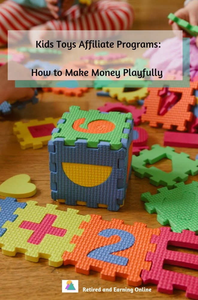Pinterest Graphic - Kids Toys Affiliate Programs