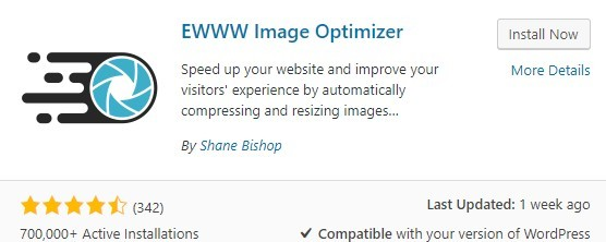 EWWW Image Optimizer Plug-in