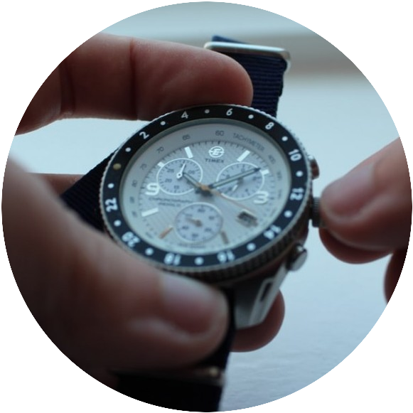 materials used to make watch