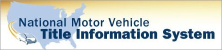 National Motor Vehicle Title Information System consumer information