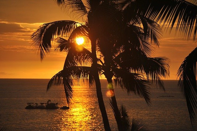 Beautiful Hawaiian Sunset