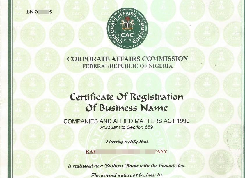 CAC Certificate