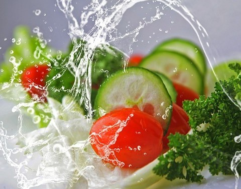 high water content foods