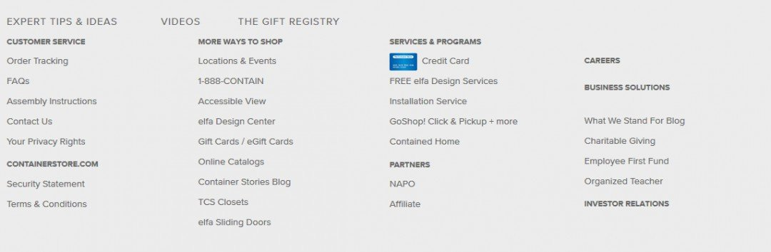 The Container Store Affiliate Opportunity  Anyone?