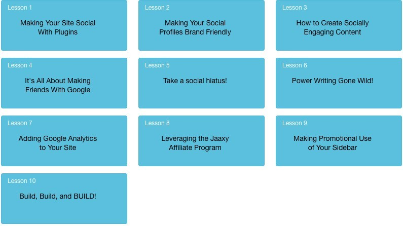 Phase 3 - Giving Your Site Social Value
